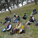 Lunch break on Friday Bird Walk © 2010 Dave McMullen